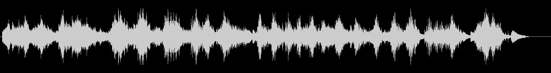 感情的なソロアコースティックピアノ...の未再生の波形