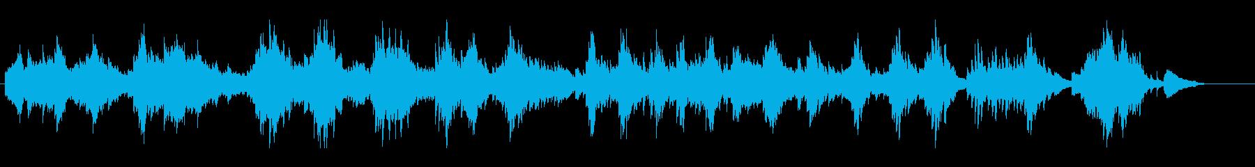 感情的なソロアコースティックピアノ...の再生済みの波形