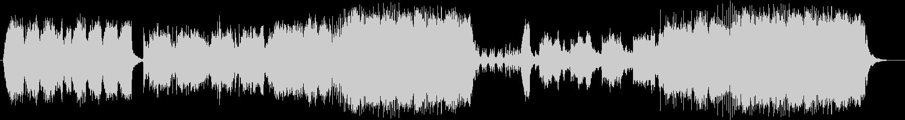 切ないメロディの際立つバラードの未再生の波形