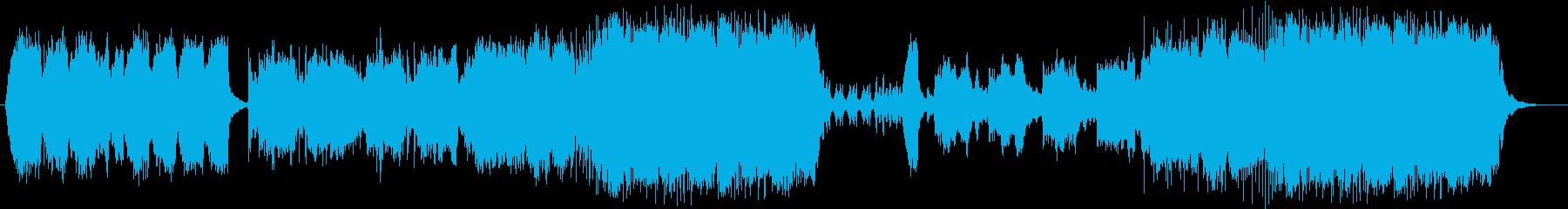 切ないメロディの際立つバラードの再生済みの波形