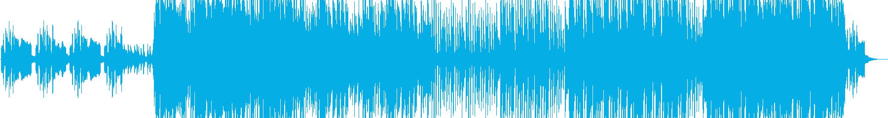 ケルト調の切ないオープニング感のある曲の再生済みの波形