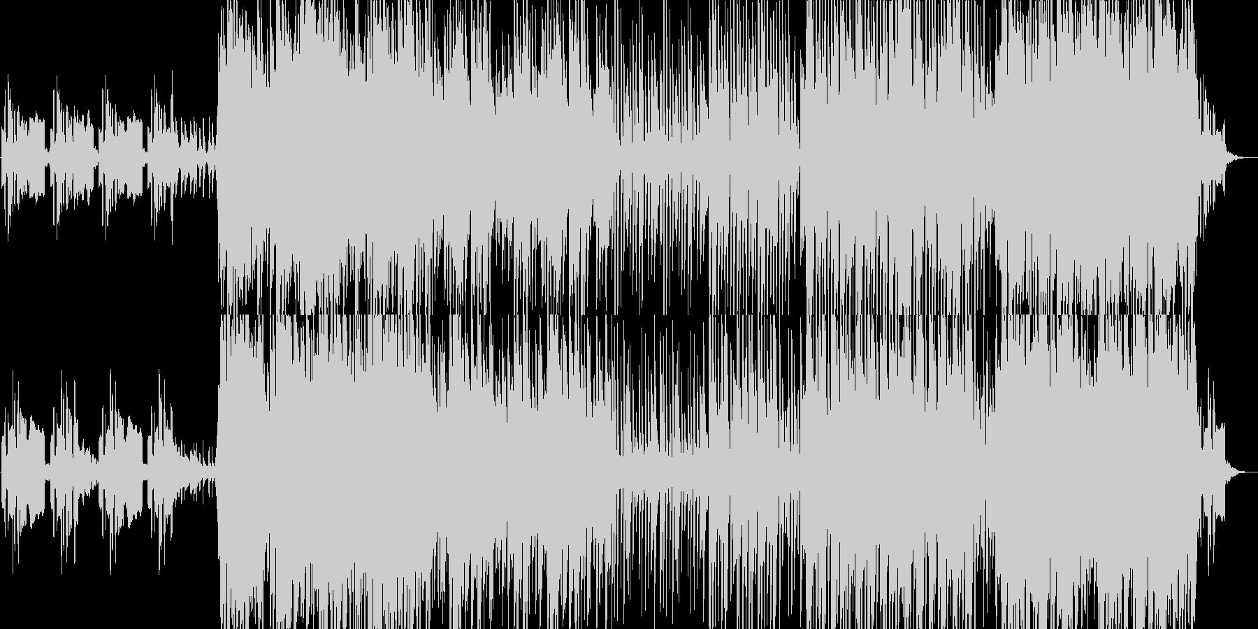 ケルト調の切ないオープニング感のある曲の未再生の波形