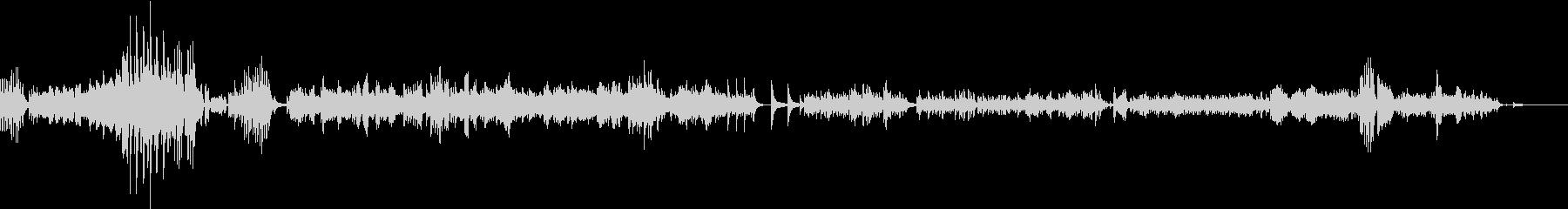 ショパンの協奏曲が短いピアノソロ曲にの未再生の波形