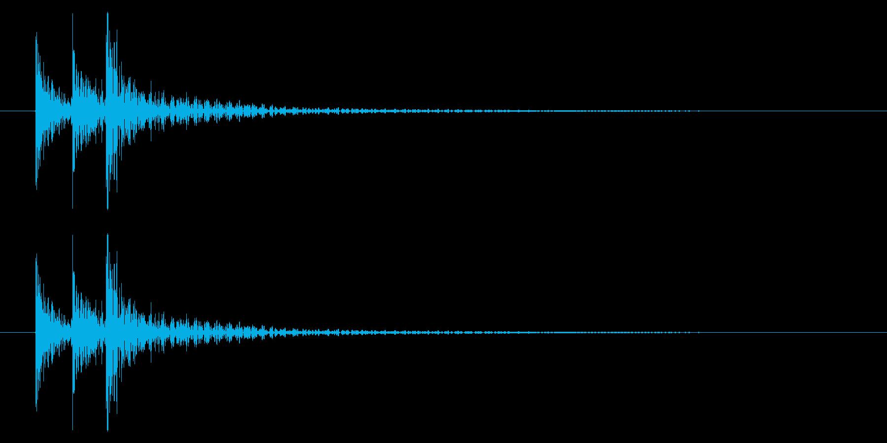 和太鼓2 ドドドン!の再生済みの波形