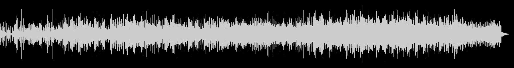 ダークで陰鬱なトリップホップの未再生の波形