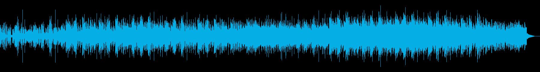 ダークで陰鬱なトリップホップの再生済みの波形