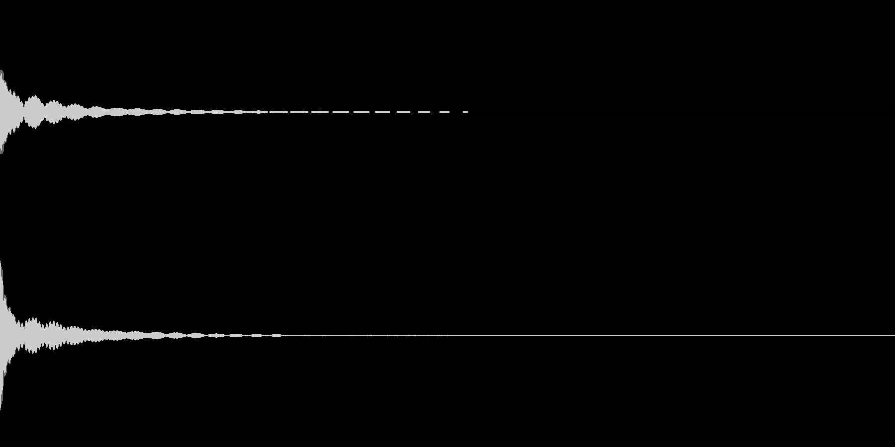 [生録音]ティンシャ、チベタンベル04の未再生の波形