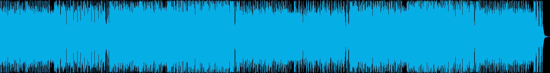 サックスが印象的なフュージョンの再生済みの波形