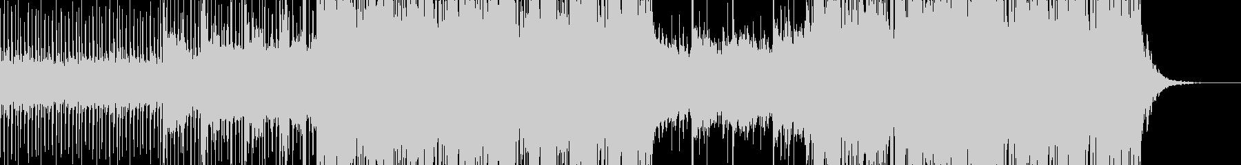 エレクトロとアコースティックのポップスの未再生の波形