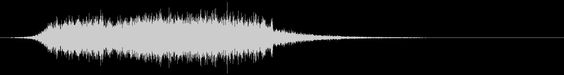 【ダーク】ホラー演出SE_05 出現の未再生の波形