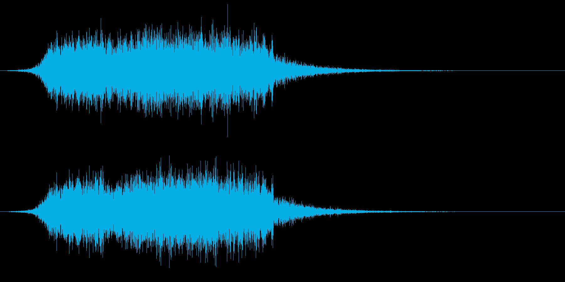 【ダーク】ホラー演出SE_05 出現の再生済みの波形