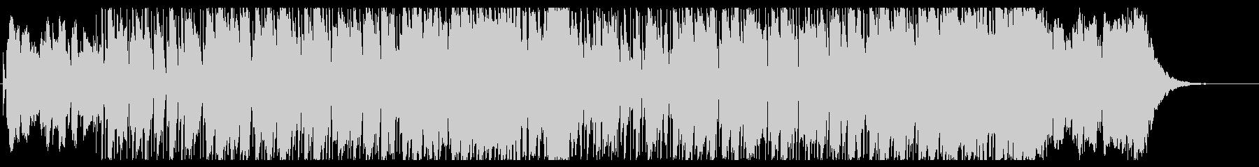 ジミ・ヘンドリックスのスタイルにや...の未再生の波形