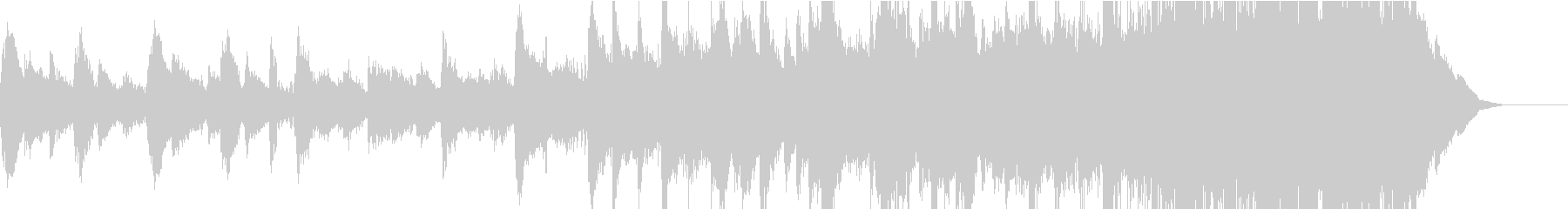 自然を感じる3拍子のピアノポップスの未再生の波形