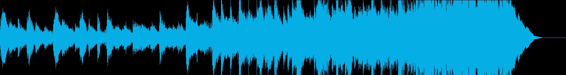 自然を感じる3拍子のピアノポップスの再生済みの波形