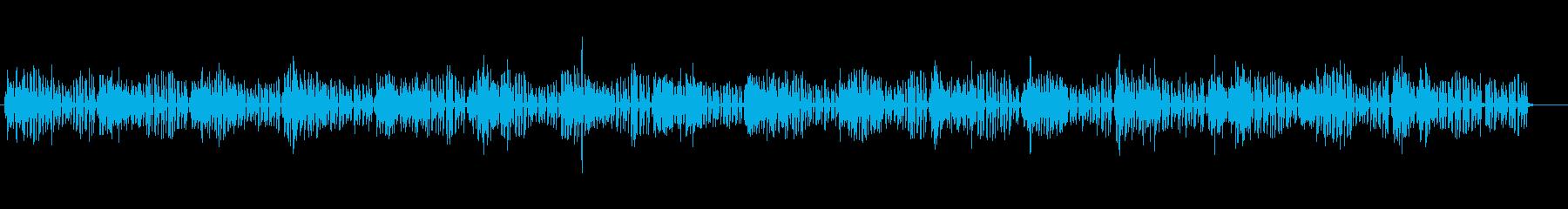 危機感を感じるテクノサウンドの再生済みの波形