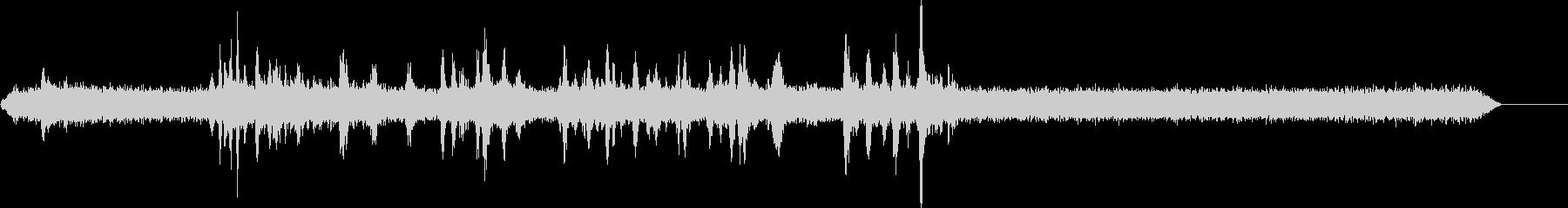 駅のプラットフォーム2の未再生の波形