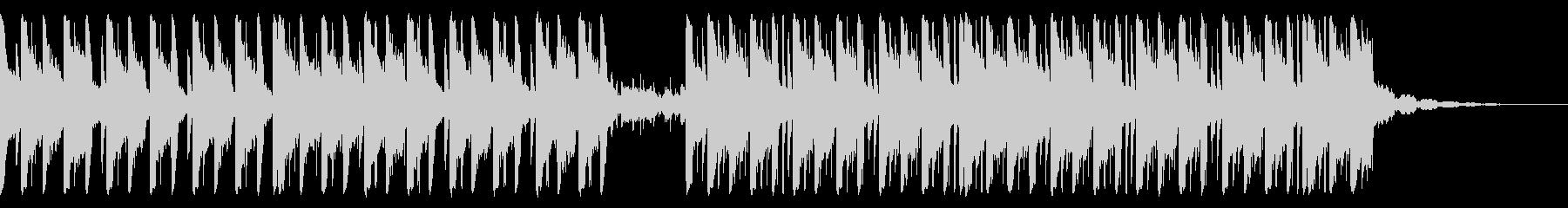 129 BPMの未再生の波形