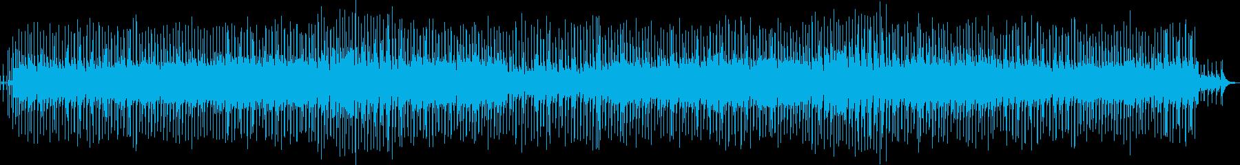 心に響くアコースティック曲の再生済みの波形