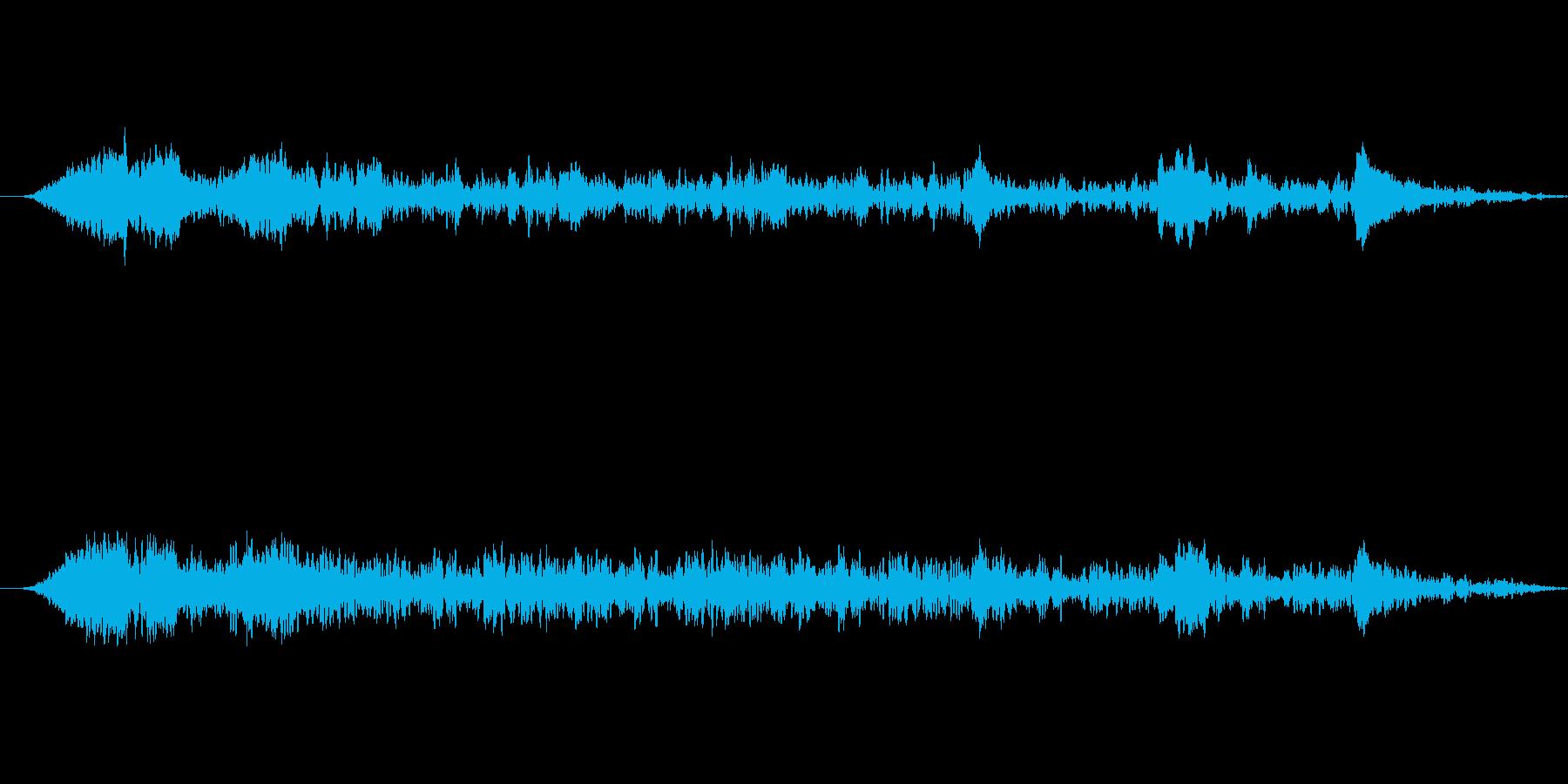 ミステリー、ホラー向き楽曲。怖がらせる…の再生済みの波形