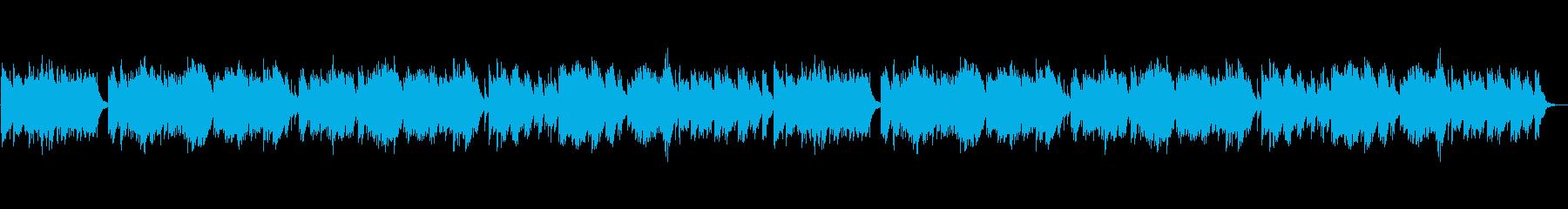 おだやかなギターソロの再生済みの波形