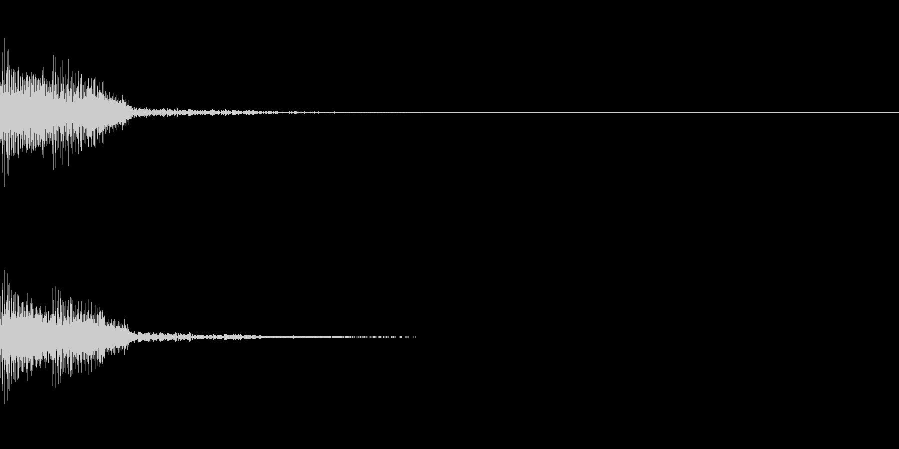 ドルン ギュルン ダラン スロットの未再生の波形