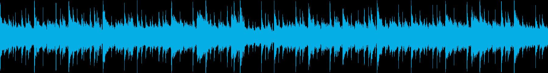 グロッケンシュピール、ピアノ、スト...の再生済みの波形
