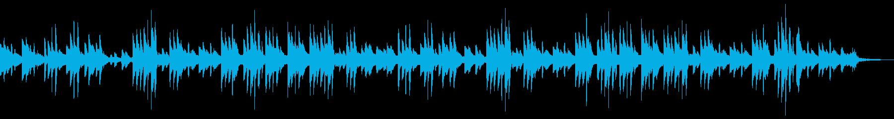 サティ風のゆったりとしたピアノソロの再生済みの波形