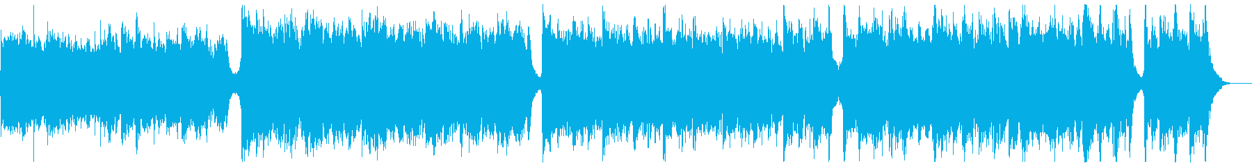 知的なシネマティックピアノ:メロディ無の再生済みの波形