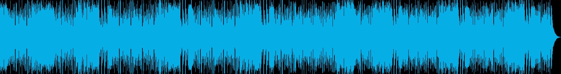 サックスセクションロカビリーのんの再生済みの波形