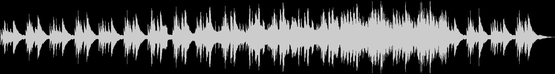 感動のシーンに合うピアノエレクトリックの未再生の波形