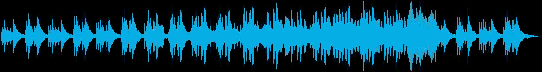 感動のシーンに合うピアノエレクトリックの再生済みの波形