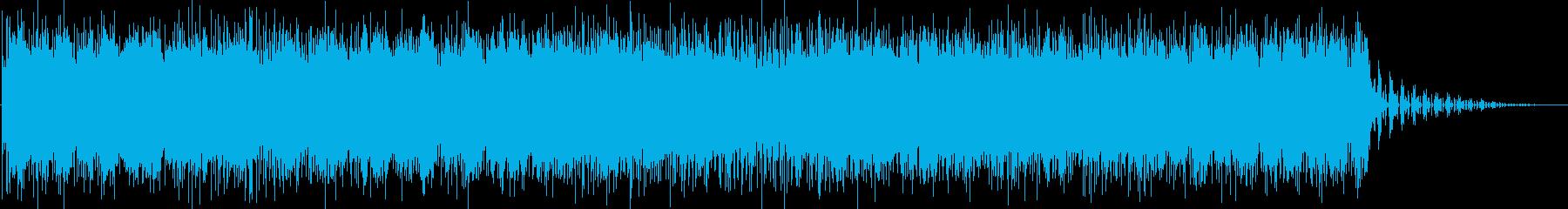 まったりした響きのあるメロディーの再生済みの波形