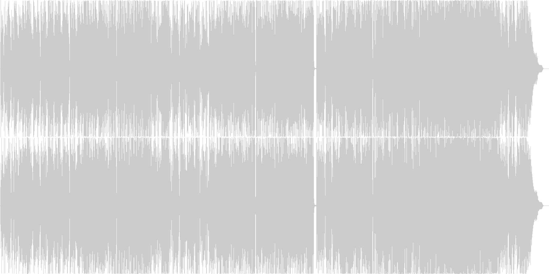 NEXTの未再生の波形