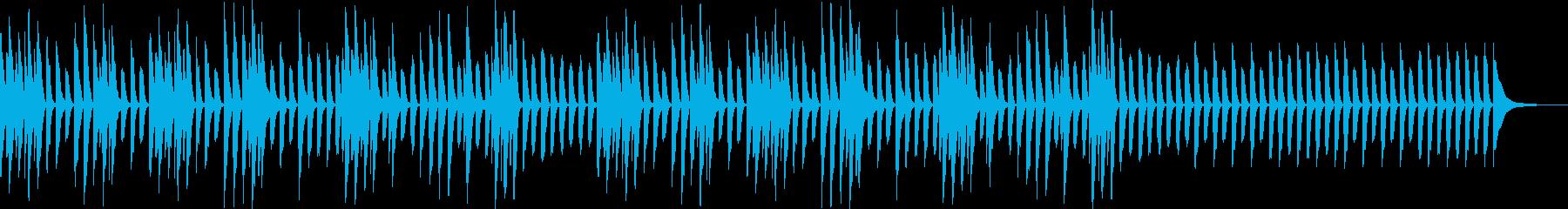 かわいいYouTube・料理会話トークの再生済みの波形