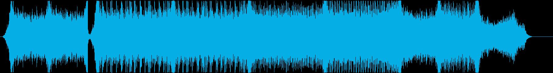 ストリングスメインの映画予告風BGM2の再生済みの波形