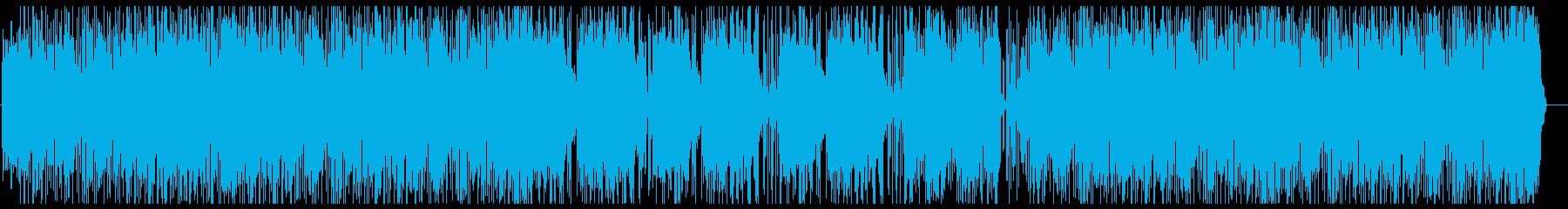ファンク アクティブ 明るい ドラ...の再生済みの波形