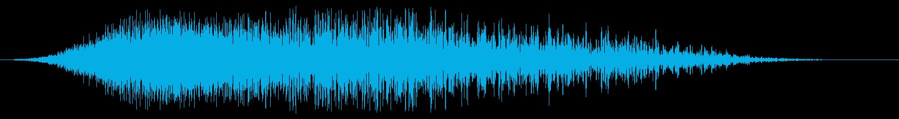 ipping音のリッピングの再生済みの波形