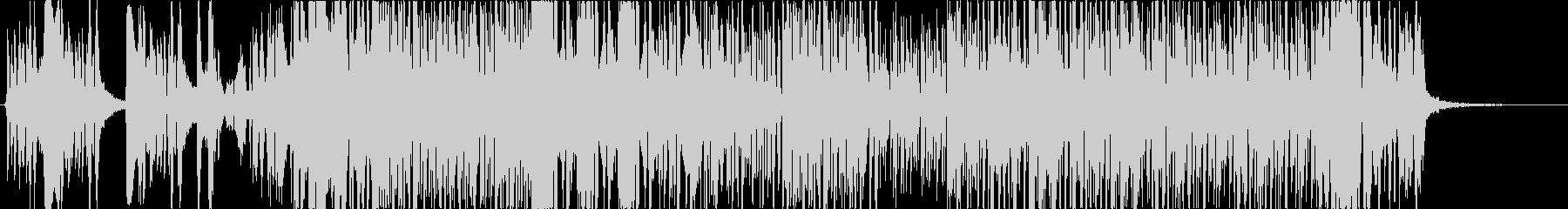 近未来サウンドのラップ多めHIPHOPの未再生の波形