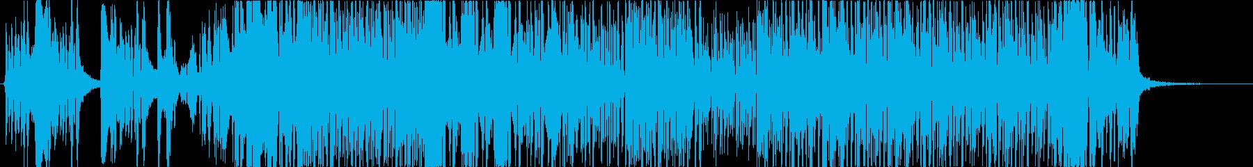 近未来サウンドのラップ多めHIPHOPの再生済みの波形
