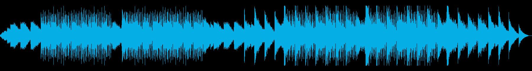 リラックスして聴けるLo-Fi、ジャズ風の再生済みの波形