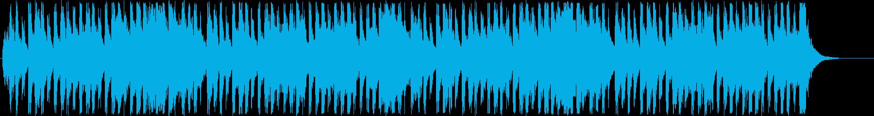 明るいメルヘン調のポップミュージックの再生済みの波形