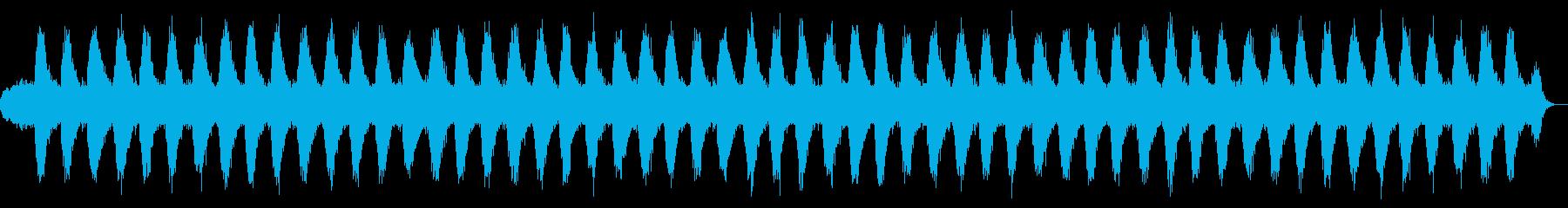 ヒーリング/リラクゼーションBGMの再生済みの波形