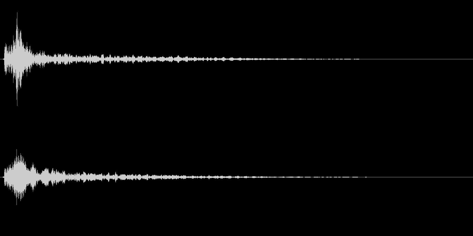 サスペンスに最適!ピアノの弦を弄ぶ音29の未再生の波形