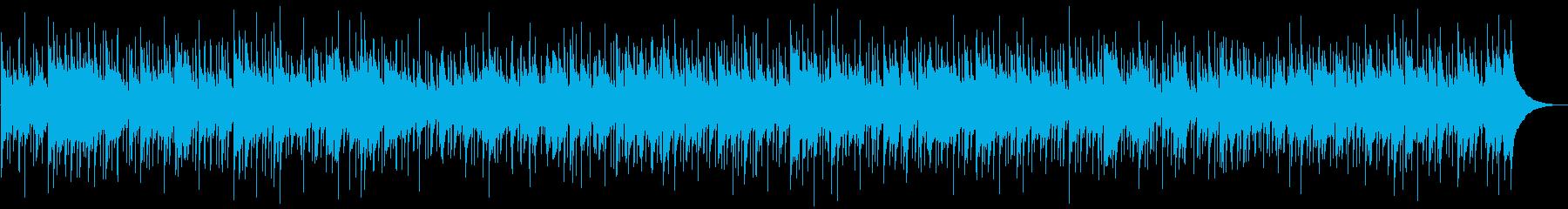 ほのぼの癒しのカントリーバラードの再生済みの波形