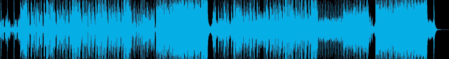 浮遊感・宇宙人が浮かぶシンセホップの再生済みの波形