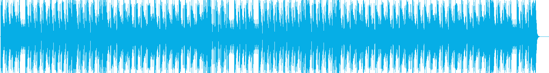 燃えるようなインパクトあるメロディーの再生済みの波形