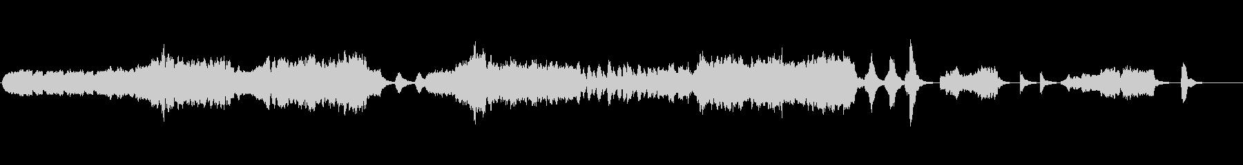 生演奏リコーダーとストリングスのBGMの未再生の波形