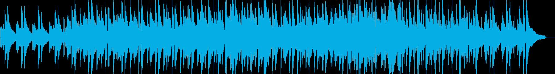 わくわく・軽快・ピアノ・イベント・映像用の再生済みの波形