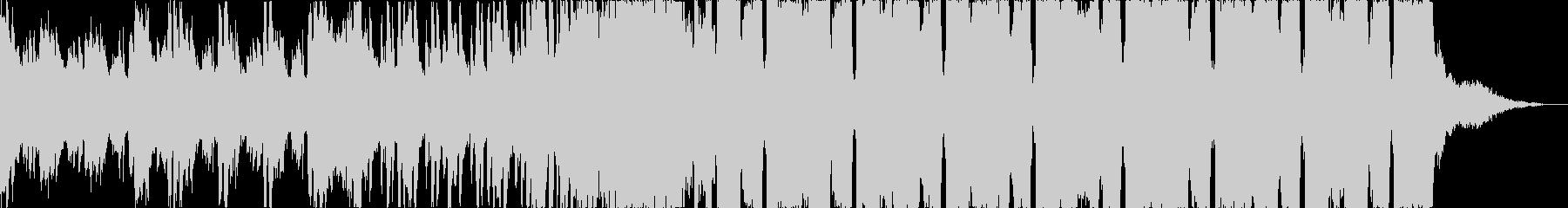 爽やか洋楽チルアウトフューチャーベースbの未再生の波形
