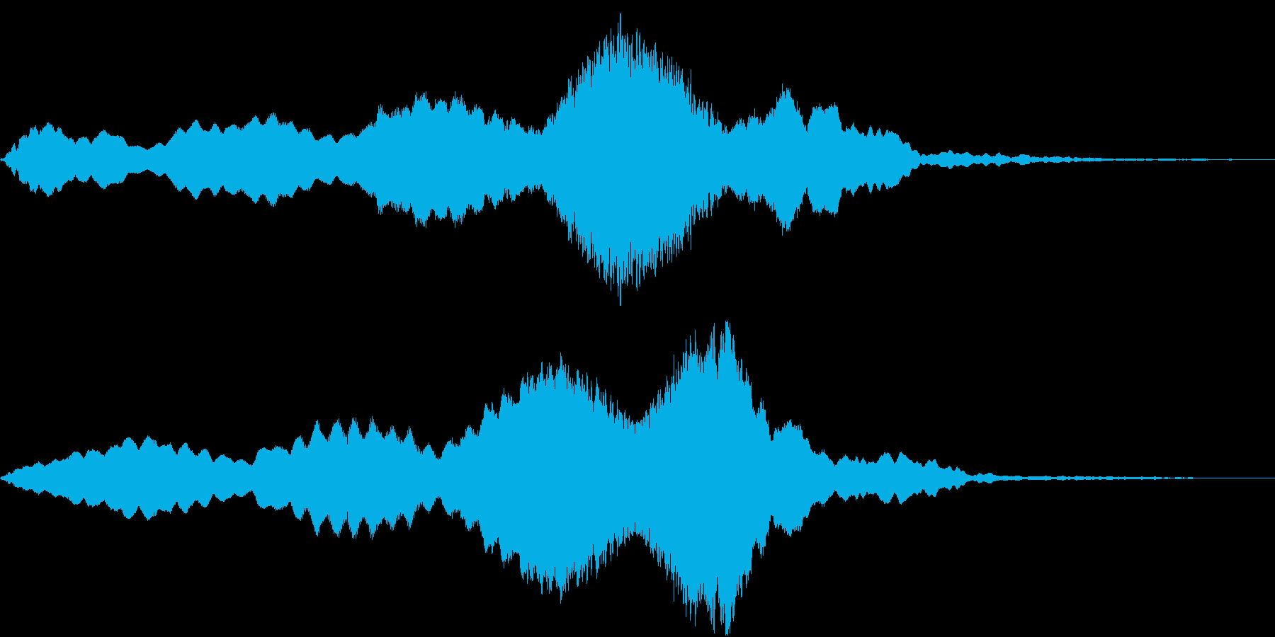 Texture 映画向け空間演出SE 6の再生済みの波形